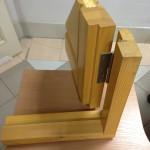утенлённая дверь в разрезе 1