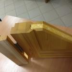 утенлённая дверь в разрезе 5