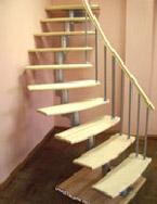 Модульная лестница с шагом 19 ( 1,5) см и 22,5 ( 1,5) см