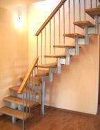 Модульная лестница с шагом 19 ( 1,5) см и 22,5 ( 1,5) см2